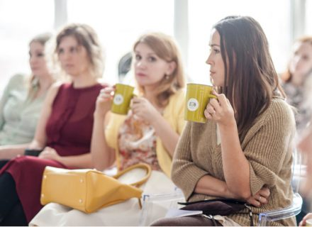 ladies meetings espresso for events